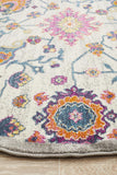 Tigris Hartha Multi Round Bohemian Transitional Rug