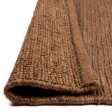Burmese Hemp Jute Rug | Coffee