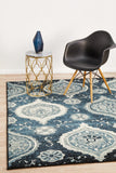 Opulance Heritage Transitional Rug Navy