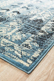 Urdu Tribal Rug Blue