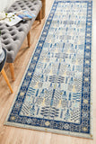 Legion Blue Transitional Rug