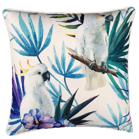 WHITE COCKATOO BIRD CUSHION - Lost Design Society