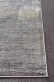 Nisa Transitional Abrash Rug Grey Charcoal Ivory
