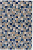 Eclipse Indoor Rug | Cubic Blue