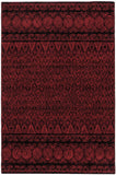 Eclipse Indoor Rug | Red Wine