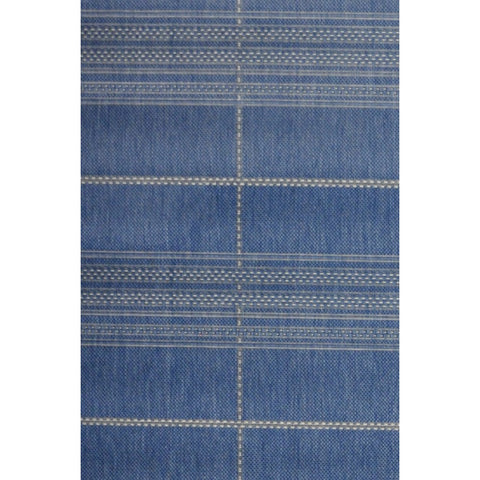 Esprit Indoor Outdoor Rug | Navy | 80x150cm - Lost Design Society