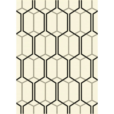 Esprit Indoor Outdoor Rug | Beige Geometric | 160x230cm - Lost Design Society