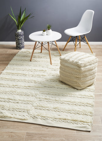 Moroccan Tribal Inspired Wedding Rug | Mingle Ivory