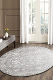 Pidegon Grey Traditional Round Rug