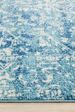 Muse Blue Transitional Rug