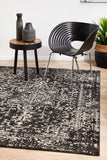 Scape Charcoal Transitional Rug