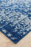 Contrast Navy Transitional Rug - Lost Design Society