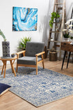 Frost Blue Transitional Rug