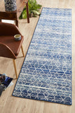 Culture Blue Transitional Rug - Lost Design Society