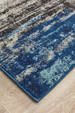 Transpose Blue Transitional Rug