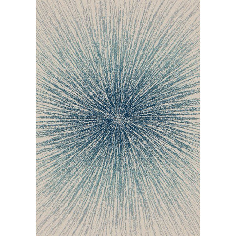 Abstract Evoke Rug | Blue | 160x230cm - Lost Design Society