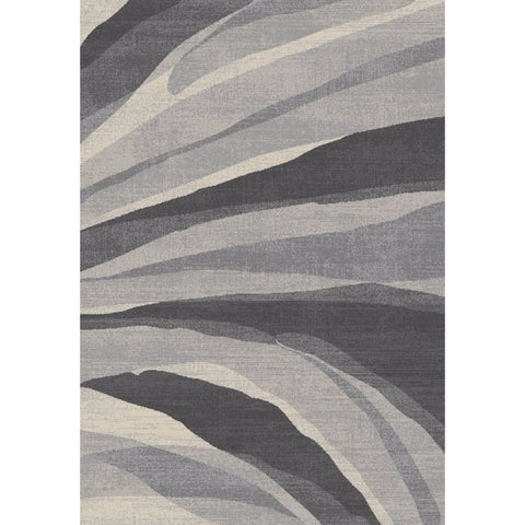 Abstract Evoke Rug | Blackand White | 160x230cm - Lost Design Society