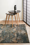 Sacred Pharaoh Rug Blue Natural