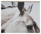 Wild Horses Wooden Framed Wall Art - Lost Design Society