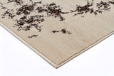 Rumi Rug Ivory Brown