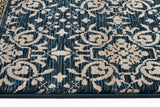 Nine Bridge Rug Blue