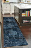 Muso Transitional Rug Blue