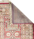 Beguiled Traditional Viscose Rug Red - Lost Design Society