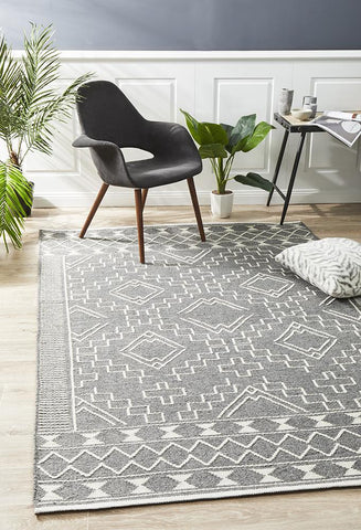 Albany Wool Grey Rug