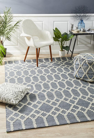 Albany Reclaimed Blue Rug