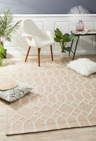 Albany Reclaimed Nude Rug