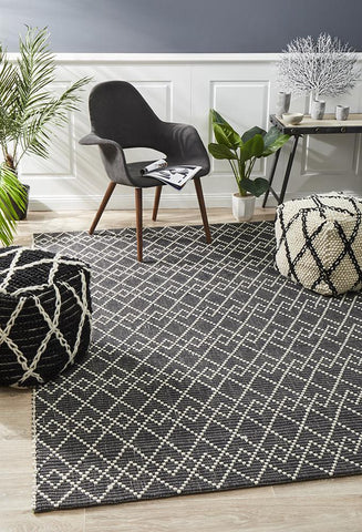 Albany Wool Midnight Rug