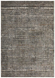 Fluid Evening Modern Grey Abrash Rug
