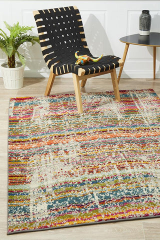 Vibrancy Monet Inspired Multi Rug