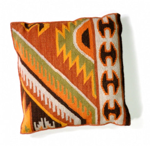 TRIBAL KILIM CUSHION | YILDIZ STAR MOTIF | 60x60cm