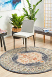Estate Ecru Round Transitional Rug