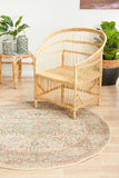 Estate Papyrus Round Transitional Rug