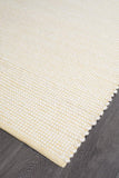 Attic Stunning Wool Yellow Rug - Lost Design Society