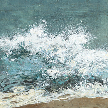 Ocean Waves Hand Painting 100*100cm