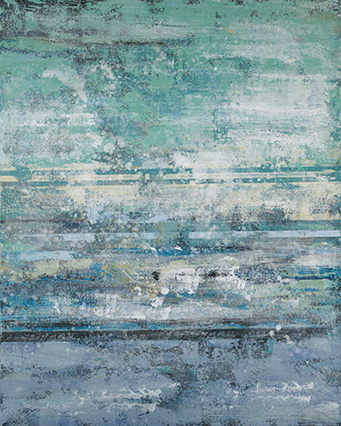 Ocean Tones Abstract Canvas Print 80*100*3cm