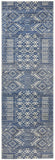 Zelda Grey Navy Transitional Rug