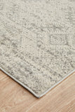 Zelda Silver Grey Transitional Rug
