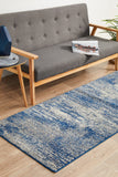 Casandra Dunescape Modern Blue Grey Transitional Rug