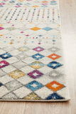 Peggy Tribal Morrocan Style Multi Transitional Rug