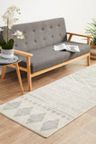 Adani Modern Tribal Design Grey Transitional Rug