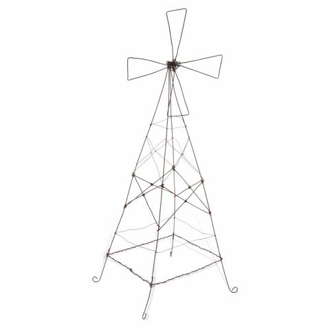 Wirework Rustic Iron Windmill Large - Lost Design Society