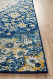 Treasury Ruthy Navy Transitional Rug