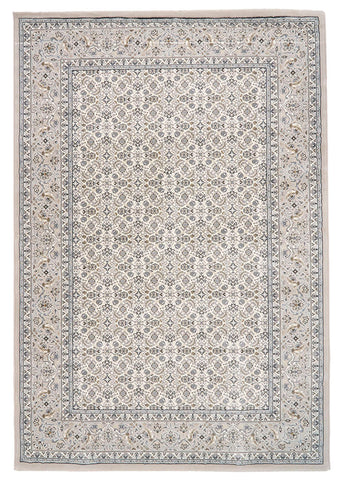 Traditional Nain Knotted Rug | Ivory