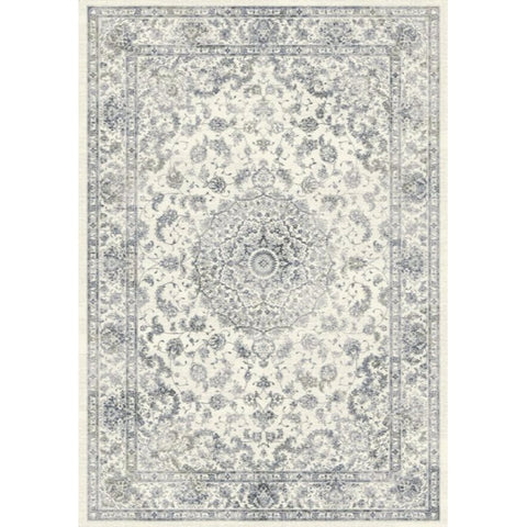 Persian Nain Knotted Rug | Light Grey | 200x290cm - Lost Design Society