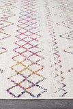 Paradise Multi Rustic Tribal Transitional Rug