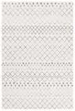 Paradise White Grey Tribal Rug